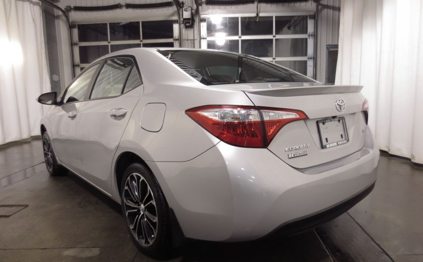 2016 Toyota Corolla S AUTO TOIT  CAMÉRA SIEGES CHAUFFANTS BLUETOOTH #4
