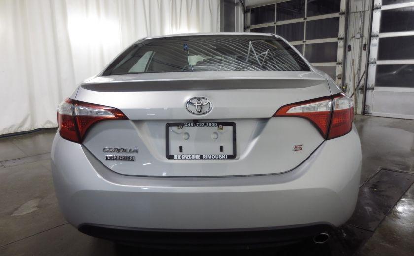 2016 Toyota Corolla S AUTO TOIT  CAMÉRA SIEGES CHAUFFANTS BLUETOOTH #5