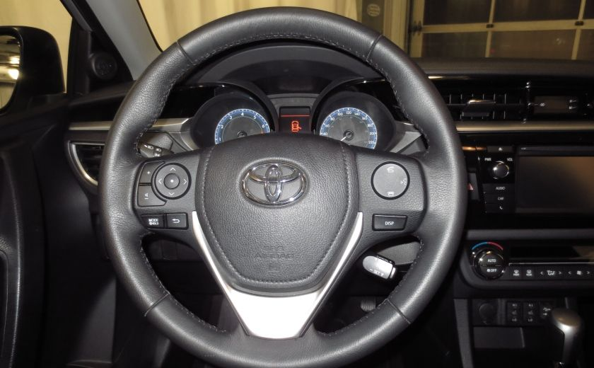 2016 Toyota Corolla S AUTO TOIT  CAMÉRA SIEGES CHAUFFANTS BLUETOOTH #18