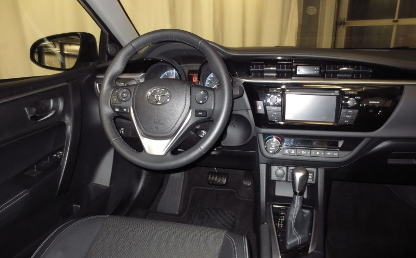 2016 Toyota Corolla S AUTO TOIT  CAMÉRA SIEGES CHAUFFANTS BLUETOOTH #15