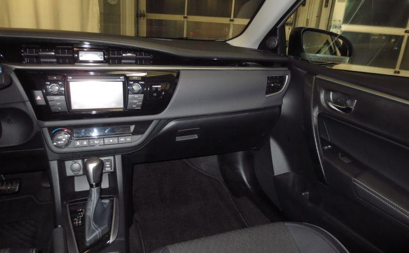 2016 Toyota Corolla S AUTO TOIT  CAMÉRA SIEGES CHAUFFANTS BLUETOOTH #16