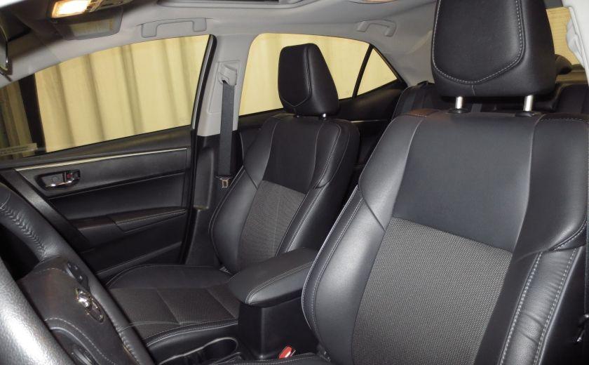 2016 Toyota Corolla S AUTO TOIT  CAMÉRA SIEGES CHAUFFANTS BLUETOOTH #10