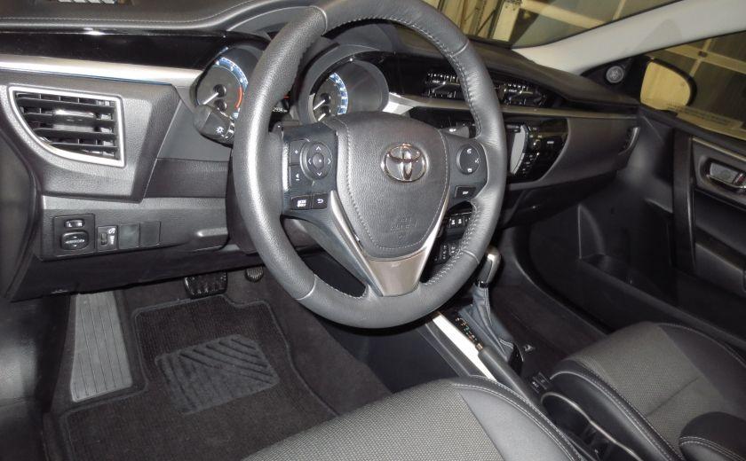 2016 Toyota Corolla S AUTO TOIT  CAMÉRA SIEGES CHAUFFANTS BLUETOOTH #8