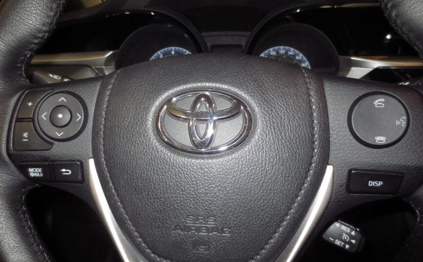 2016 Toyota Corolla S AUTO TOIT  CAMÉRA SIEGES CHAUFFANTS BLUETOOTH #19