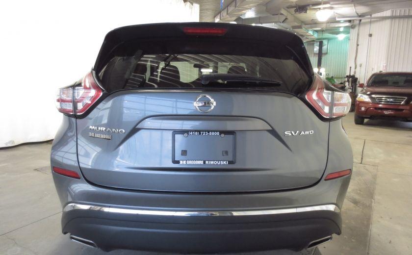 2016 Nissan Murano SV AWD CAMÉRA, VOLANT ET SIEGES CHAUFFANTS TOIT #5