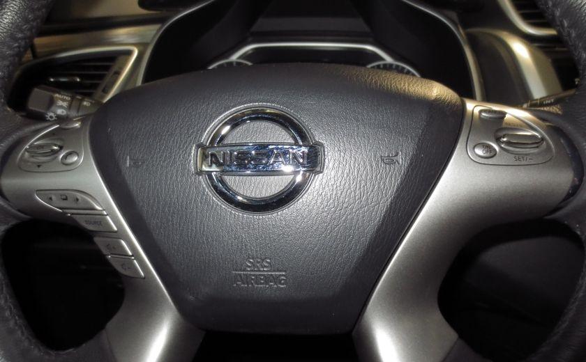 2016 Nissan Murano SV AWD CAMÉRA, VOLANT ET SIEGES CHAUFFANTS TOIT #19