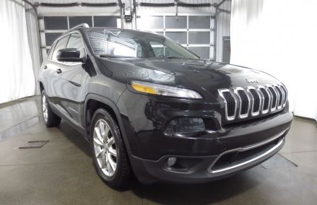 2014 Jeep Cherokee Limited cuir navigation sieges chauffants/ventilés #0