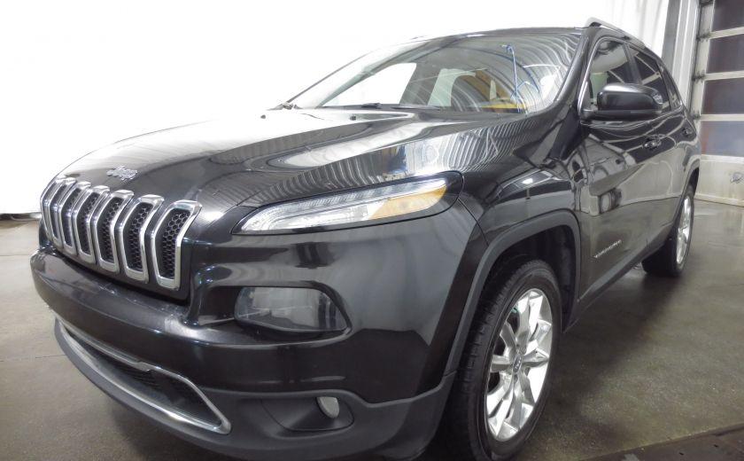 2014 Jeep Cherokee Limited cuir navigation sieges chauffants/ventilés #2