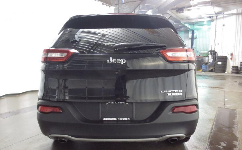 2014 Jeep Cherokee Limited cuir navigation sieges chauffants/ventilés #5