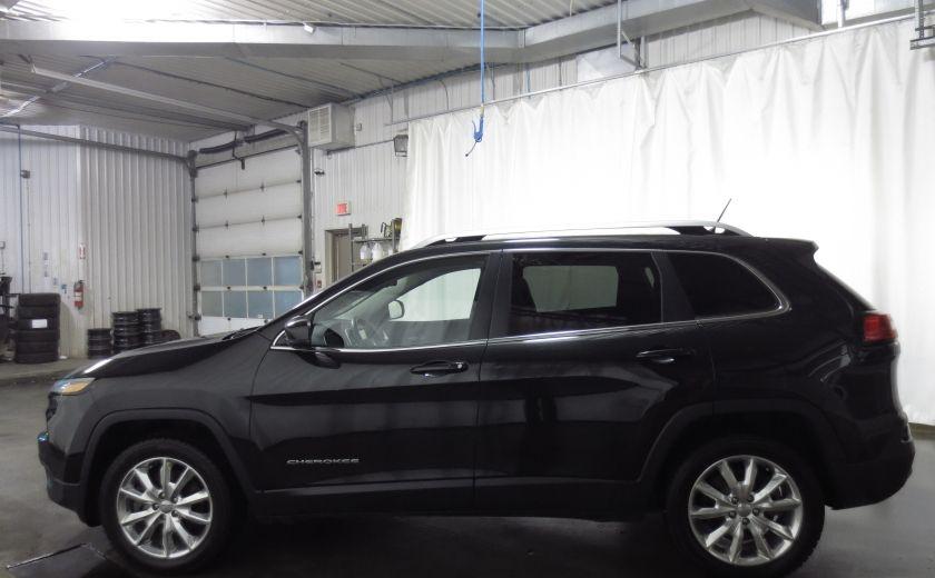 2014 Jeep Cherokee Limited cuir navigation sieges chauffants/ventilés #3
