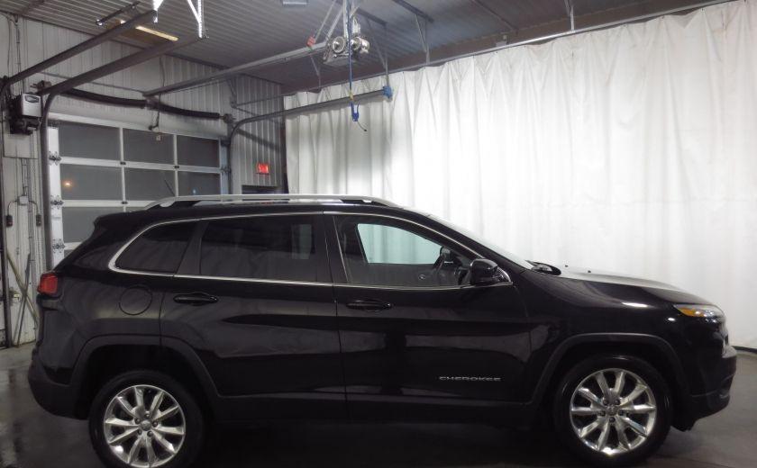 2014 Jeep Cherokee Limited cuir navigation sieges chauffants/ventilés #7