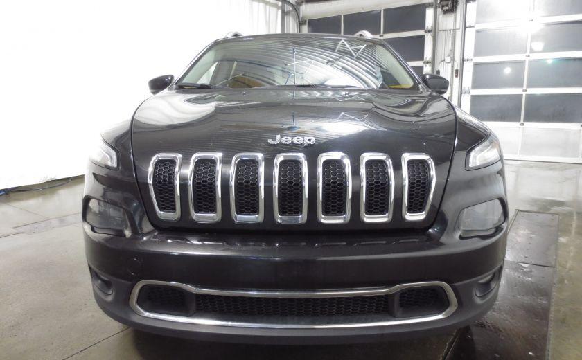 2014 Jeep Cherokee Limited cuir navigation sieges chauffants/ventilés #1