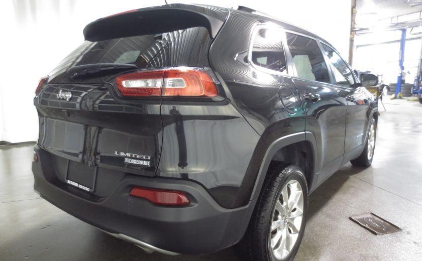 2014 Jeep Cherokee Limited cuir navigation sieges chauffants/ventilés #6
