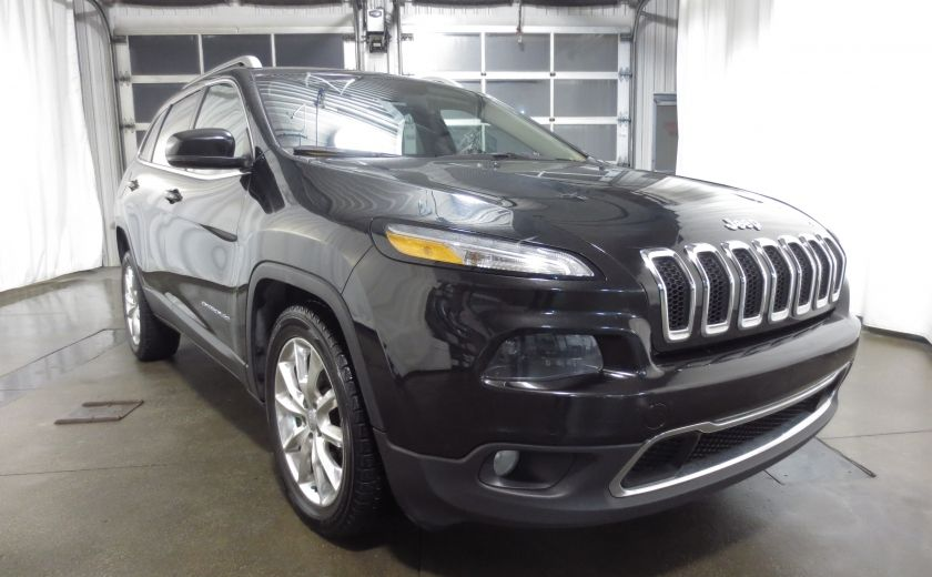 2014 Jeep Cherokee Limited cuir navigation sieges chauffants/ventilés #0