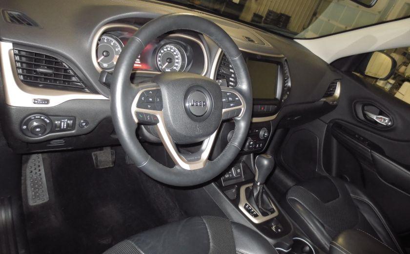 2014 Jeep Cherokee Limited cuir navigation sieges chauffants/ventilés #8
