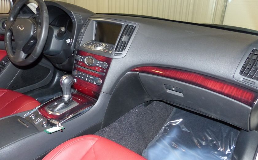 Used 2013 infiniti g37 for sale at hgregoire in chicoutimi - Infiniti g37 red interior for sale ...
