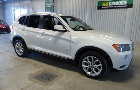 2014 BMW X3 xDrive28i  TURBO AWD (cuir-toit) in Laval
