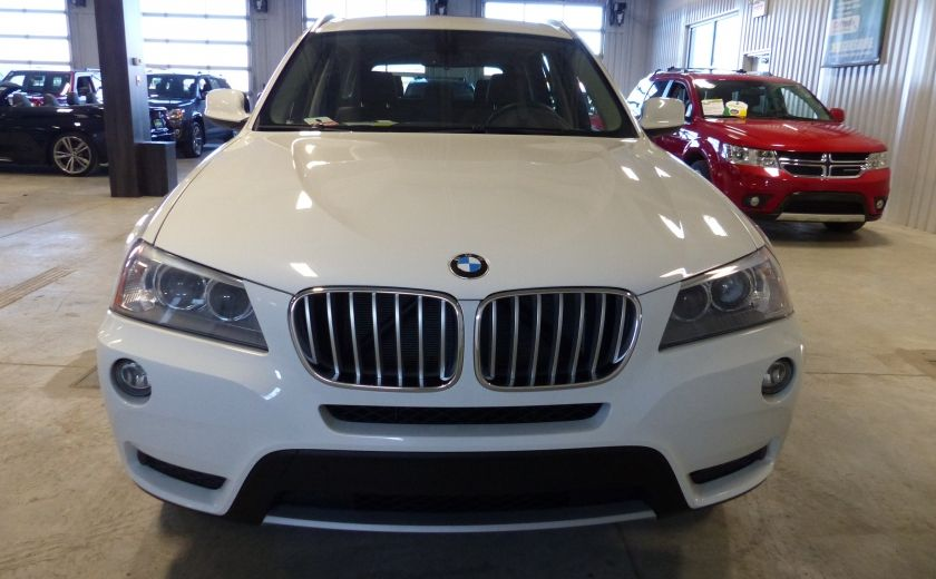 2014 BMW X3 xDrive28i  TURBO AWD (cuir-toit) #1