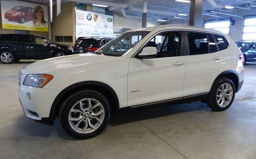 2014 BMW X3 xDrive28i  TURBO AWD (cuir-toit) #2