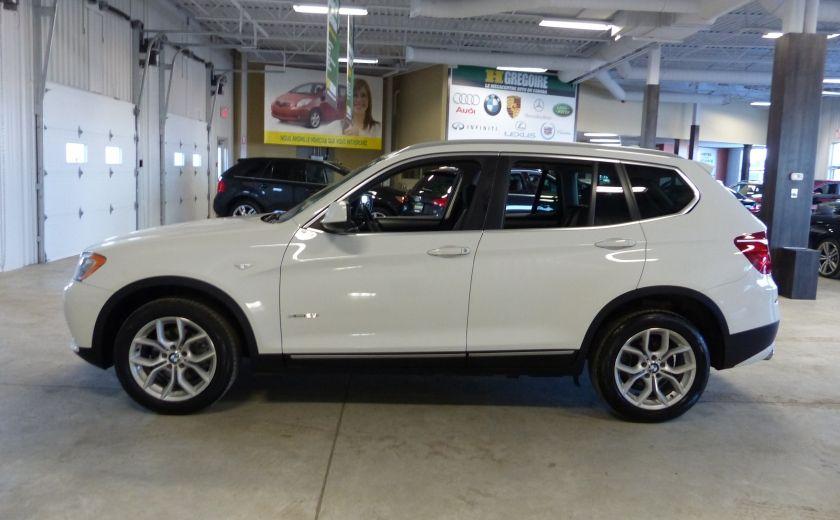 2014 BMW X3 xDrive28i  TURBO AWD (cuir-toit) #3