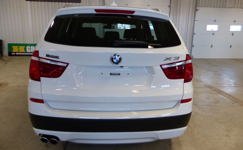 2014 BMW X3 xDrive28i  TURBO AWD (cuir-toit) #5
