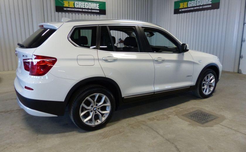 2014 BMW X3 xDrive28i  TURBO AWD (cuir-toit) #6