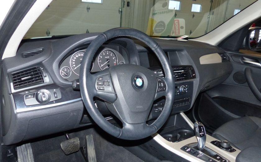 2014 BMW X3 xDrive28i  TURBO AWD (cuir-toit) #8