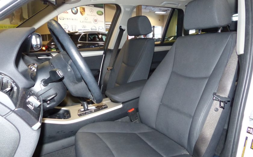 2014 BMW X3 xDrive28i  TURBO AWD (cuir-toit) #9