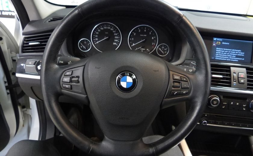 2014 BMW X3 xDrive28i  TURBO AWD (cuir-toit) #16