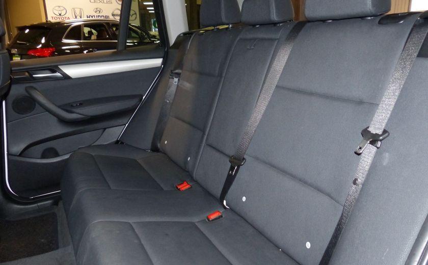2014 BMW X3 xDrive28i  TURBO AWD (cuir-toit) #20