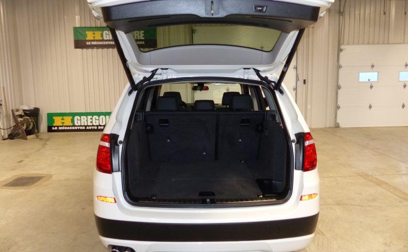 2014 BMW X3 xDrive28i  TURBO AWD (cuir-toit) #21