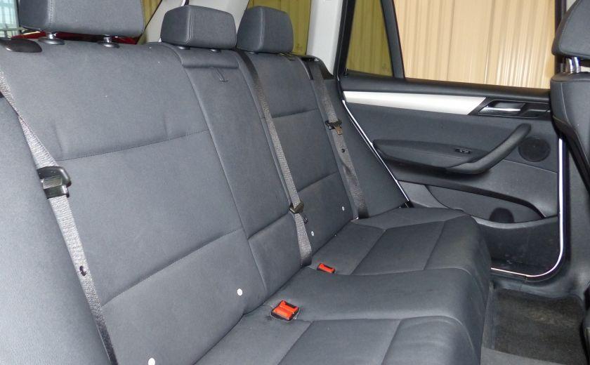 2014 BMW X3 xDrive28i  TURBO AWD (cuir-toit) #24