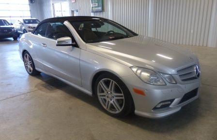 2011 Mercedes Benz E350  Convertible (CUIR-NAV) Cameras à New Richmond