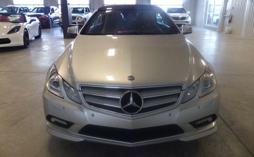 2011 Mercedes Benz E350  Convertible (CUIR-NAV) Cameras #1