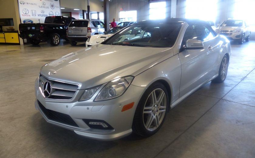 2011 Mercedes Benz E350  Convertible (CUIR-NAV) Cameras #2