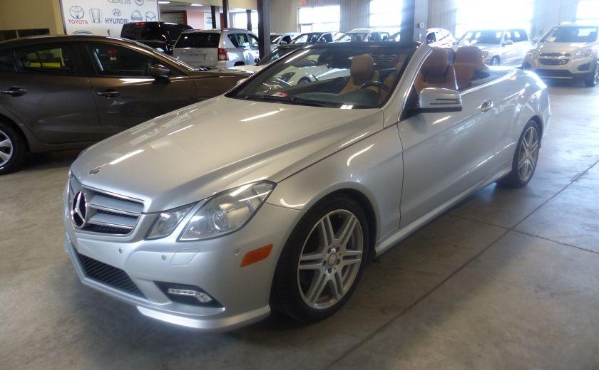 2011 Mercedes Benz E350  Convertible (CUIR-NAV) Cameras #9