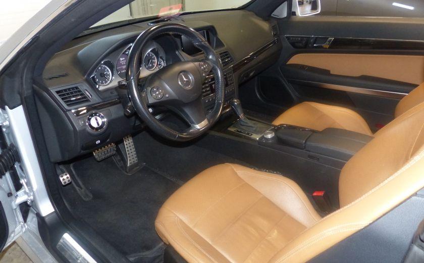 2011 Mercedes Benz E350  Convertible (CUIR-NAV) Cameras #12