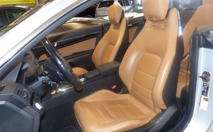2011 Mercedes Benz E350  Convertible (CUIR-NAV) Cameras #13