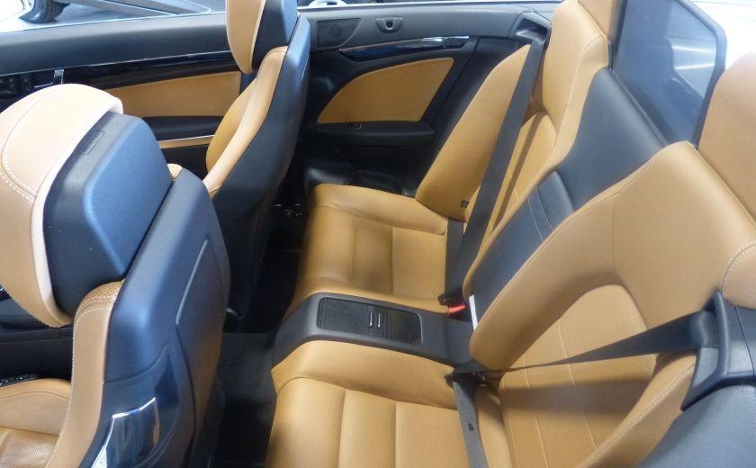 2011 Mercedes Benz E350  Convertible (CUIR-NAV) Cameras #14