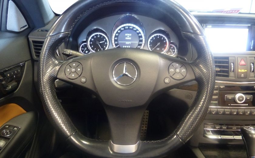 2011 Mercedes Benz E350  Convertible (CUIR-NAV) Cameras #15