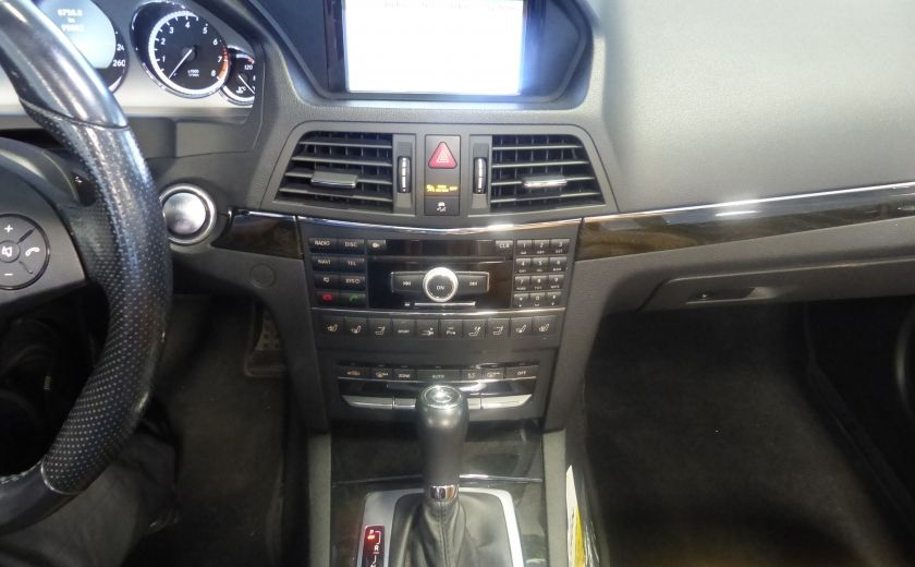 2011 Mercedes Benz E350  Convertible (CUIR-NAV) Cameras #19