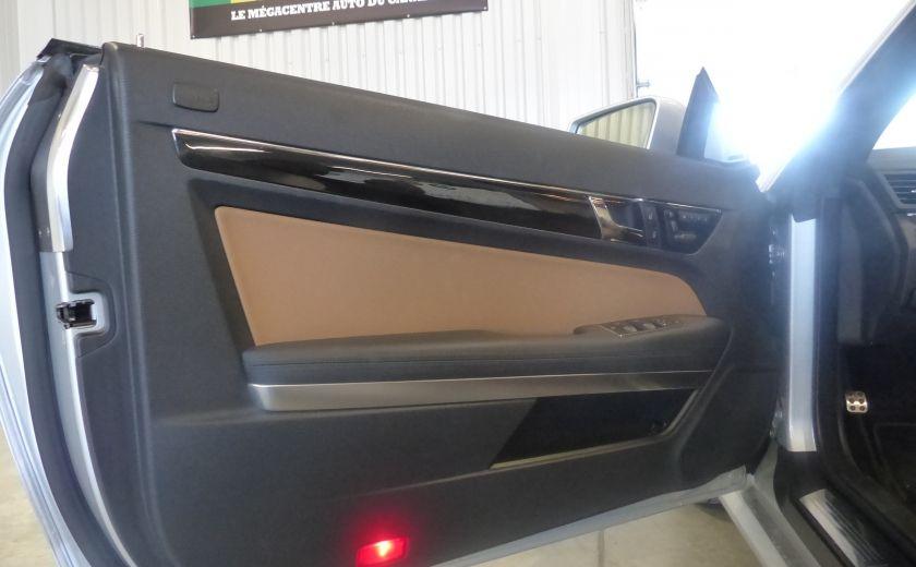 2011 Mercedes Benz E350  Convertible (CUIR-NAV) Cameras #26