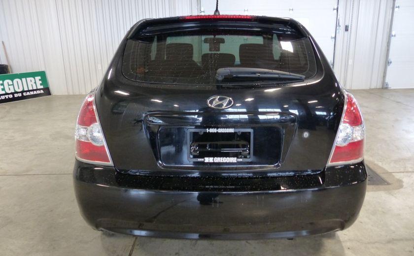 2011 Hyundai Accent L MANUELLE #5
