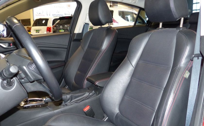 2014 Mazda 6 GT A/C Gr-Électrique (Cuir-Toit-Nav) #9