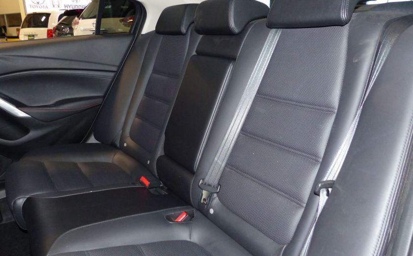 2014 Mazda 6 GT A/C Gr-Électrique (Cuir-Toit-Nav) #22