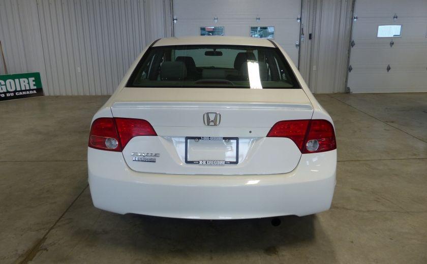 2008 Honda Civic DX-A 4 portes A/C Vitres électriques #5
