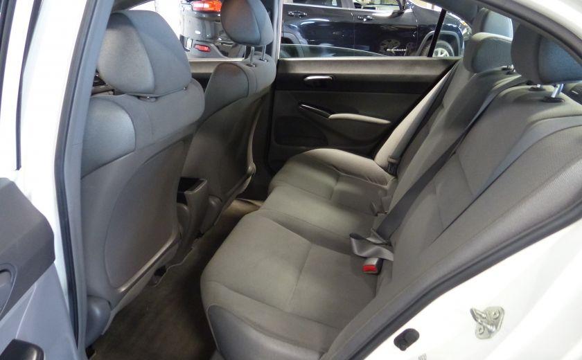 2008 Honda Civic DX-A 4 portes A/C Vitres électriques #16