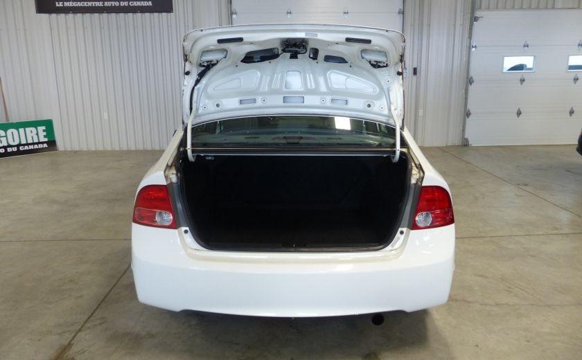 2008 Honda Civic DX-A 4 portes A/C Vitres électriques #18