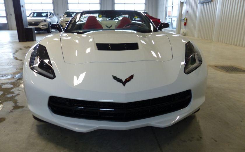 2016 Chevrolet Corvette Z51 Convertible 3LT (cuir-nav-suspension reglabe) #1