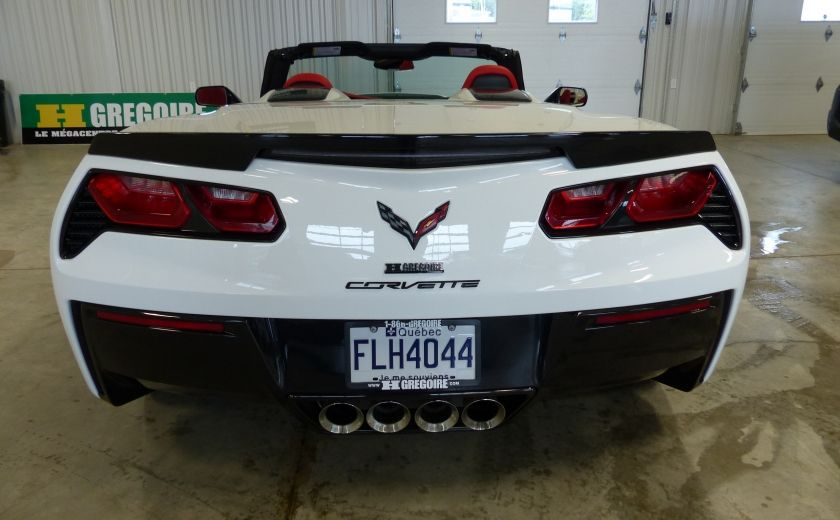 2016 Chevrolet Corvette Z51 Convertible 3LT (cuir-nav-suspension reglabe) #5